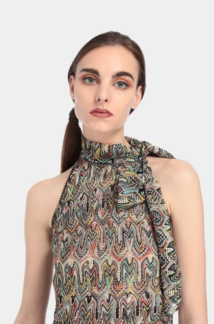 MISSONI Top Black Woman - Front