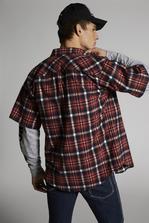 DSQUARED2 Check Short Sleeved Shirt  衬衫 男士