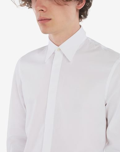 SHIRTS Cotton shirt White