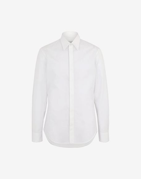 MAISON MARGIELA Cotton shirt Long sleeve shirt Man f