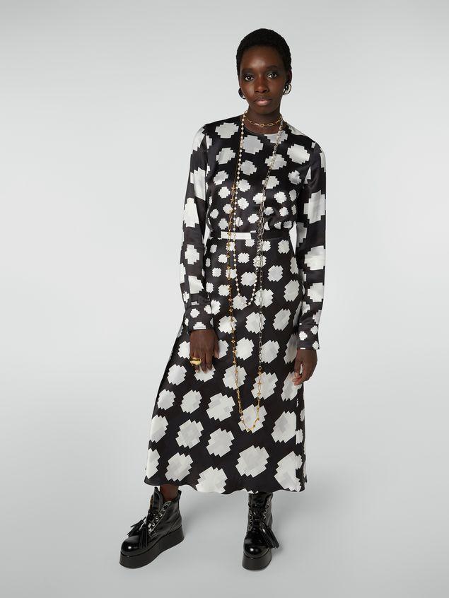 Marni Crewneck shirt in satin Otti print Woman - 5