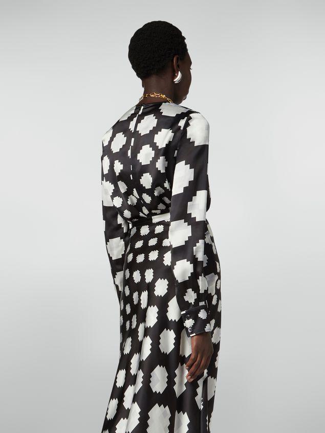 Marni Crewneck shirt in satin Otti print Woman - 3