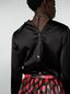 Marni Shirt in shiny satin with detached collar Woman - 4