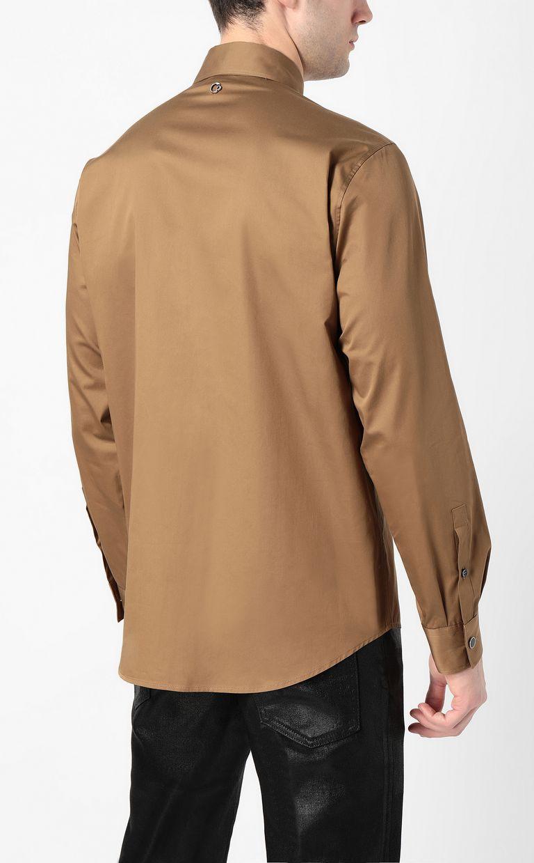 JUST CAVALLI Shirt with chain detail Long sleeve shirt Man a