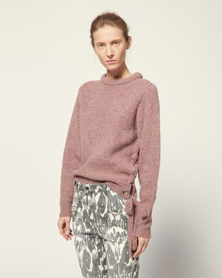 ISABEL MARANT ÉTOILE LONG SLEEVE JUMPER Woman MARCY JUMPER r