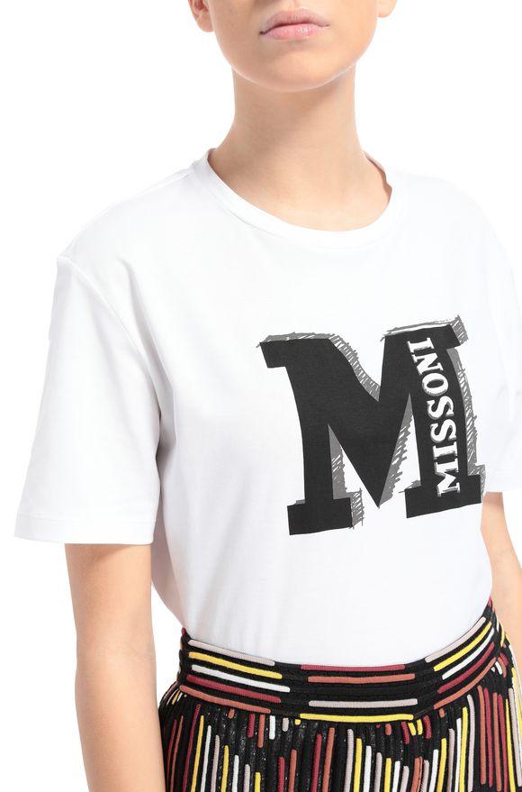 M MISSONI Футболка Для Женщин, Вид сзади