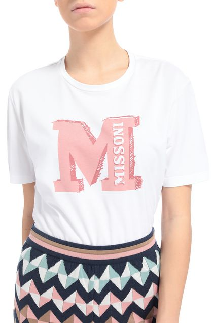 M MISSONI T-shirt Pink Woman - Front