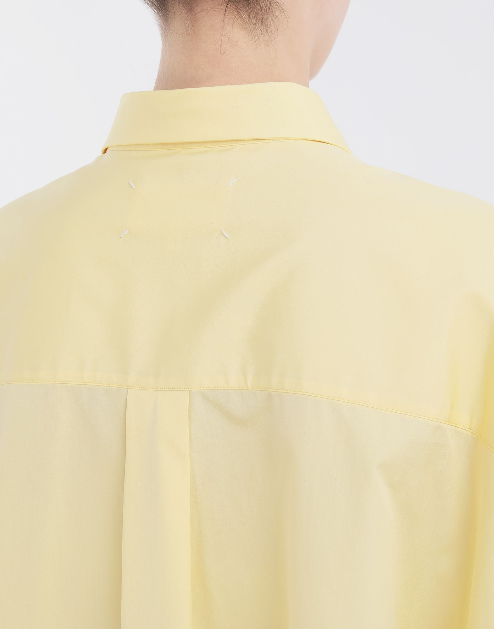 MAISON MARGIELA Oversized shirt Long sleeve shirt Woman a