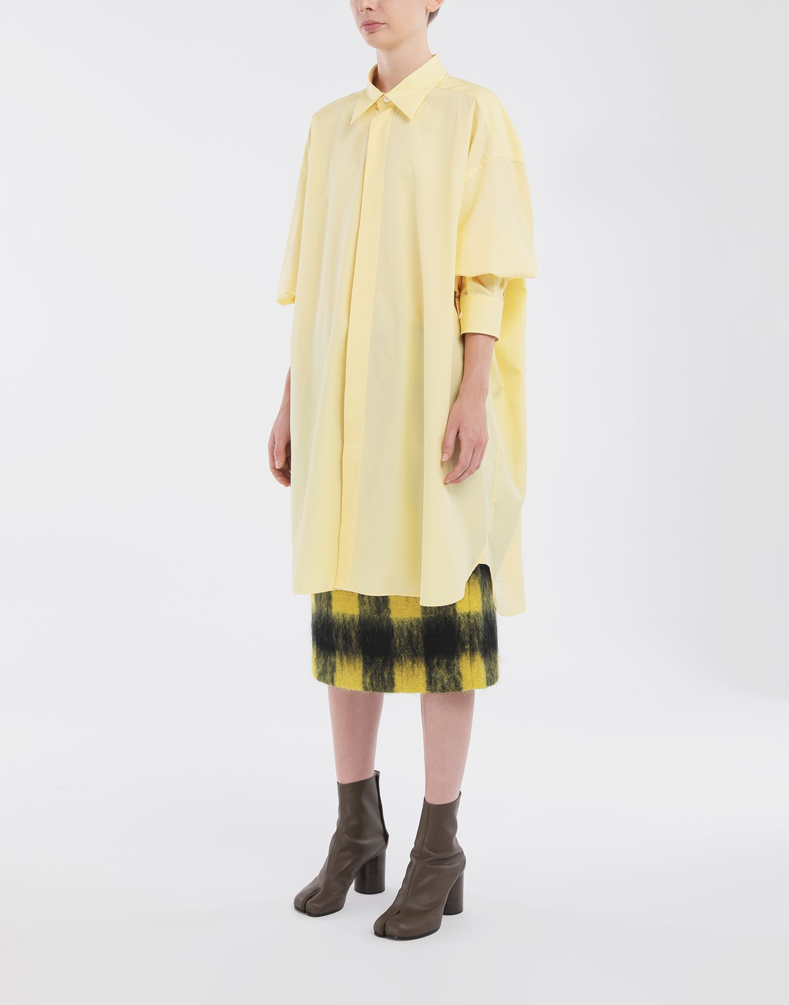 MAISON MARGIELA Oversized shirt Long sleeve shirt Woman d