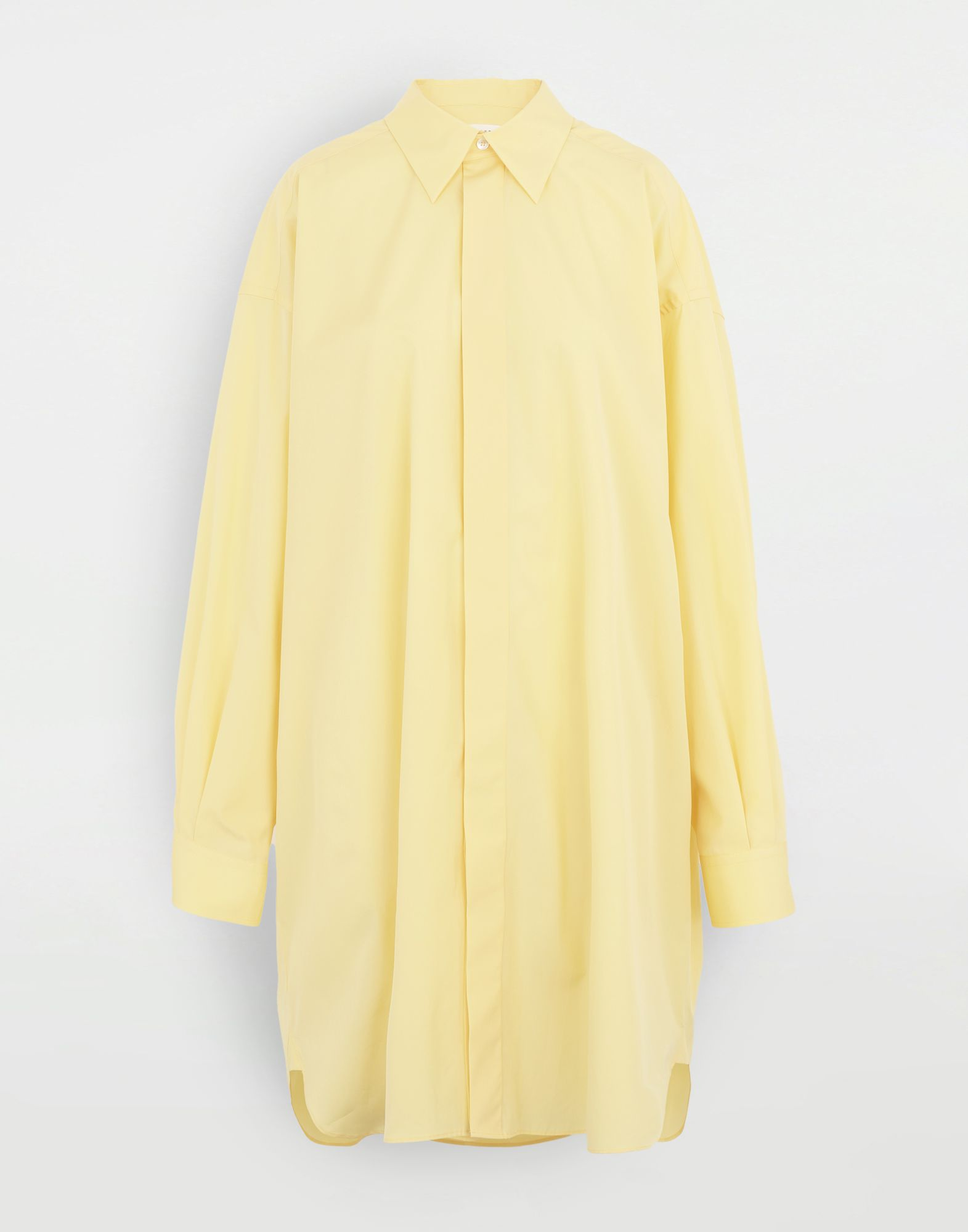 MAISON MARGIELA Oversized shirt Long sleeve shirt Woman f