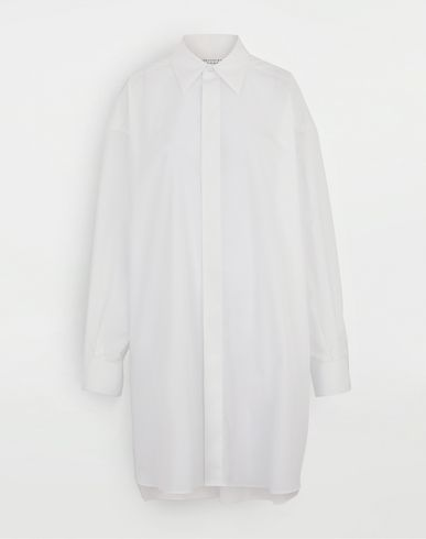 MAISON MARGIELA Oversized shirt Long sleeve shirt Woman f