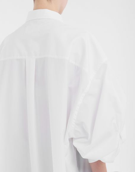 MAISON MARGIELA Oversized shirt Long sleeve shirt Woman a