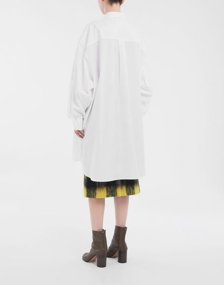 MAISON MARGIELA Oversized shirt Long sleeve shirt Woman e