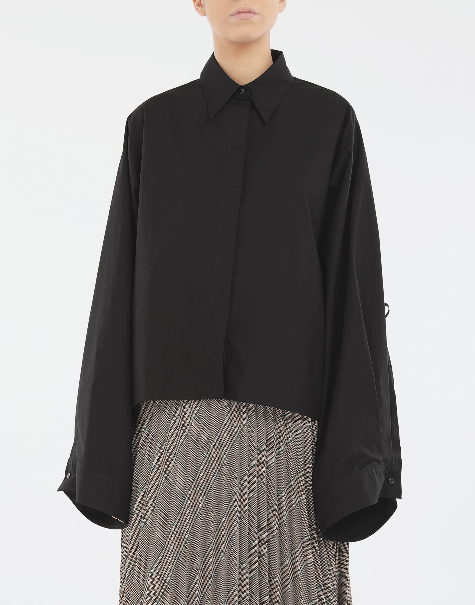 MM6 MAISON MARGIELA Shirt with strings Long sleeve shirt Woman r