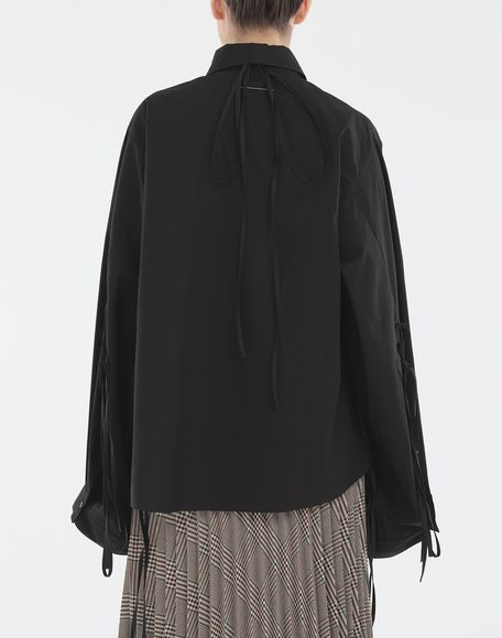 MM6 MAISON MARGIELA Shirt with strings Long sleeve shirt Woman e