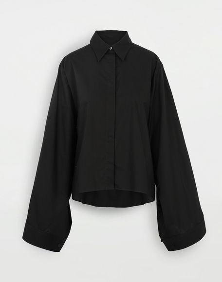 MM6 MAISON MARGIELA Shirt with strings Long sleeve shirt Woman f