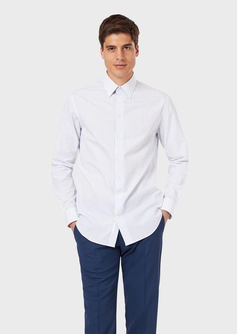 EMPORIO ARMANI Классическая рубашка Для Мужчин f