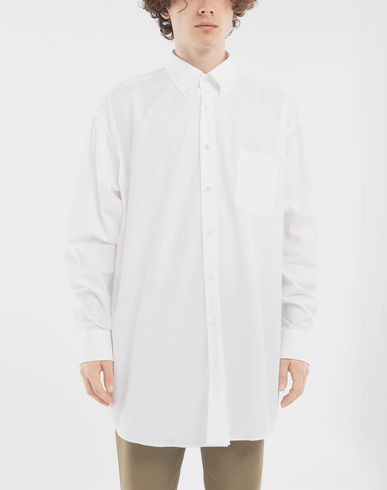 SHIRTS Oversized shirt White
