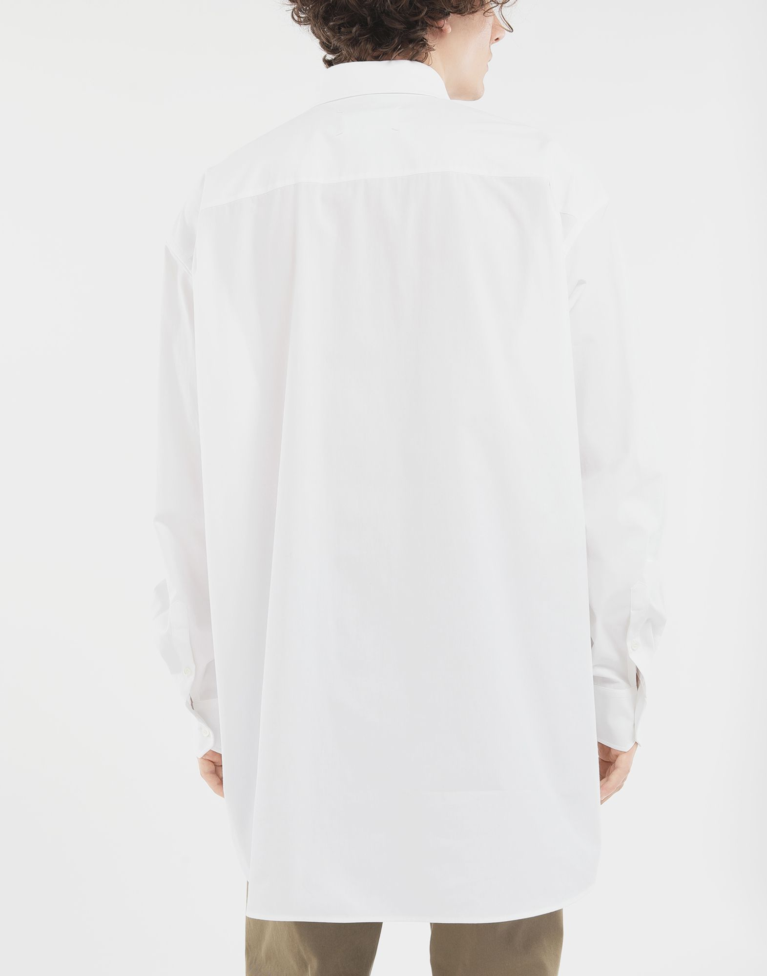 MAISON MARGIELA Oversized shirt Long sleeve shirt Man e