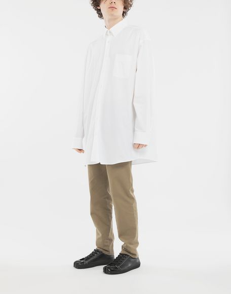 MAISON MARGIELA Oversized shirt Long sleeve shirt Man d