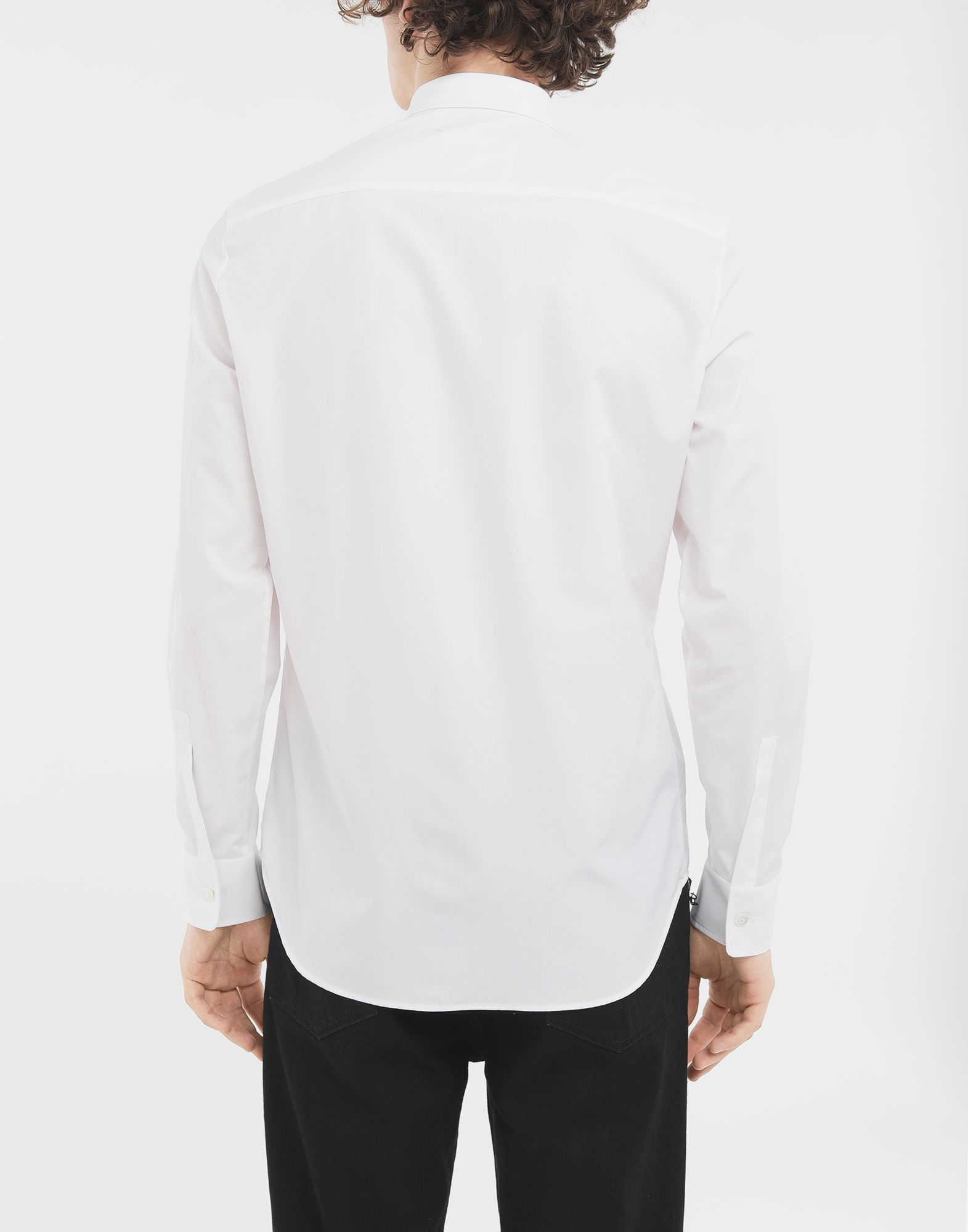 MAISON MARGIELA Fragile print detail shirt Long sleeve shirt Man e