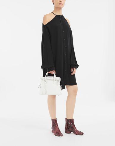 SHIRTS Décortiqué silk shirt Black