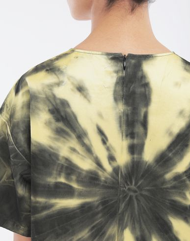 TOPS & TEES Tie-dye T-shirt Yellow