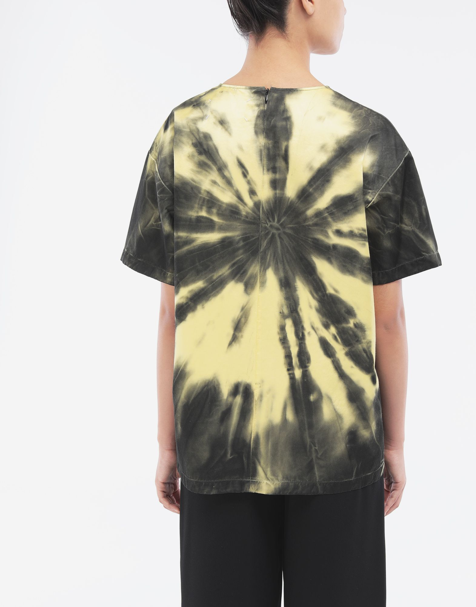 MAISON MARGIELA Tie-dye T-shirt Top Woman e