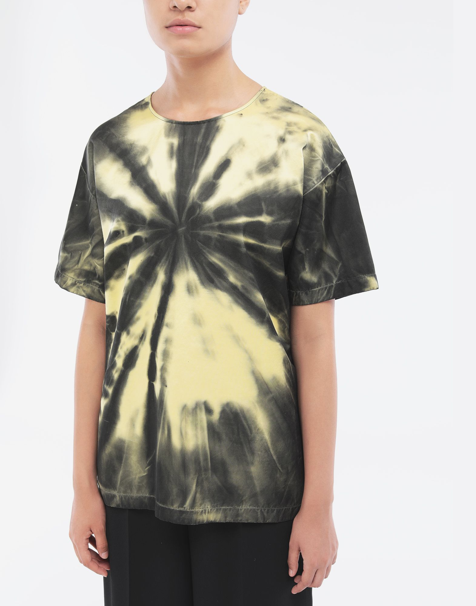 MAISON MARGIELA Tie-dye T-shirt Top Woman r