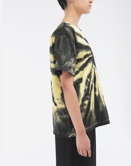 MAISON MARGIELA Tie-dye T-shirt Top Woman a