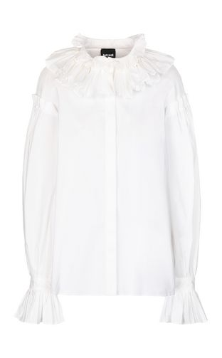 JUST CAVALLI Long sleeve shirt Woman Shirt with chain detail f