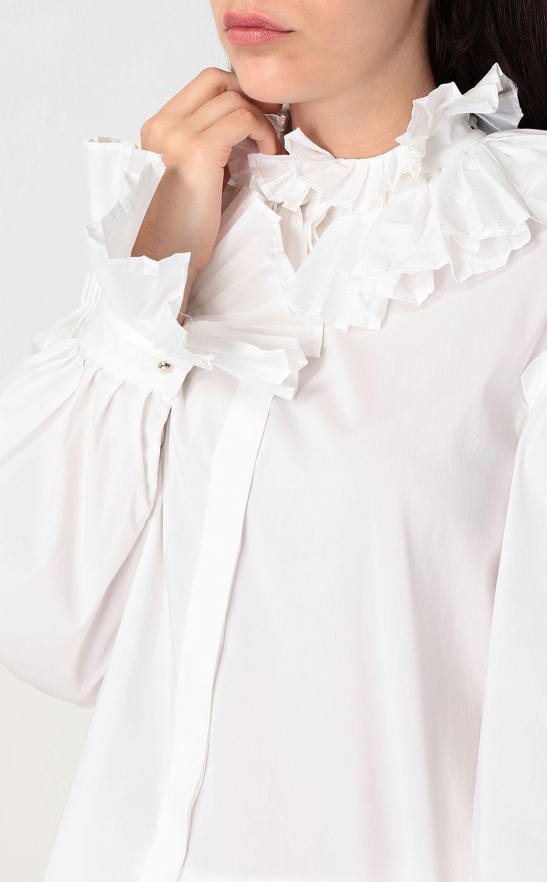 JUST CAVALLI Pleated shirt Long sleeve shirt Woman e