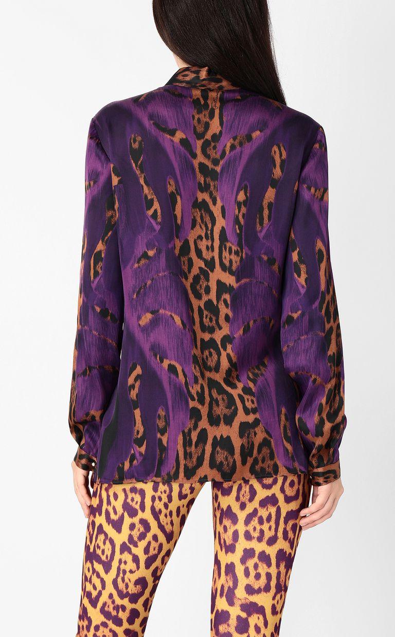 "JUST CAVALLI ""Jungle-Deco'""-print shirt Long sleeve shirt Woman a"