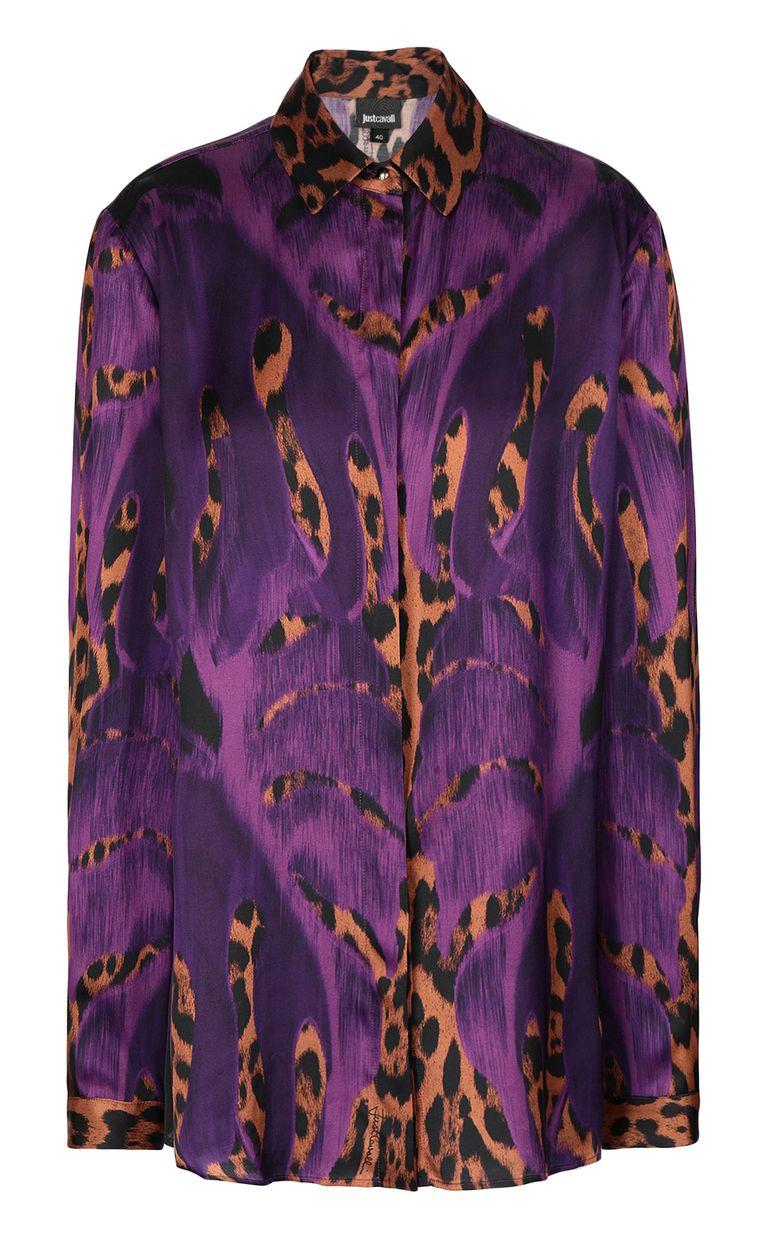 "JUST CAVALLI ""Jungle-Deco'""-print shirt Long sleeve shirt Woman f"