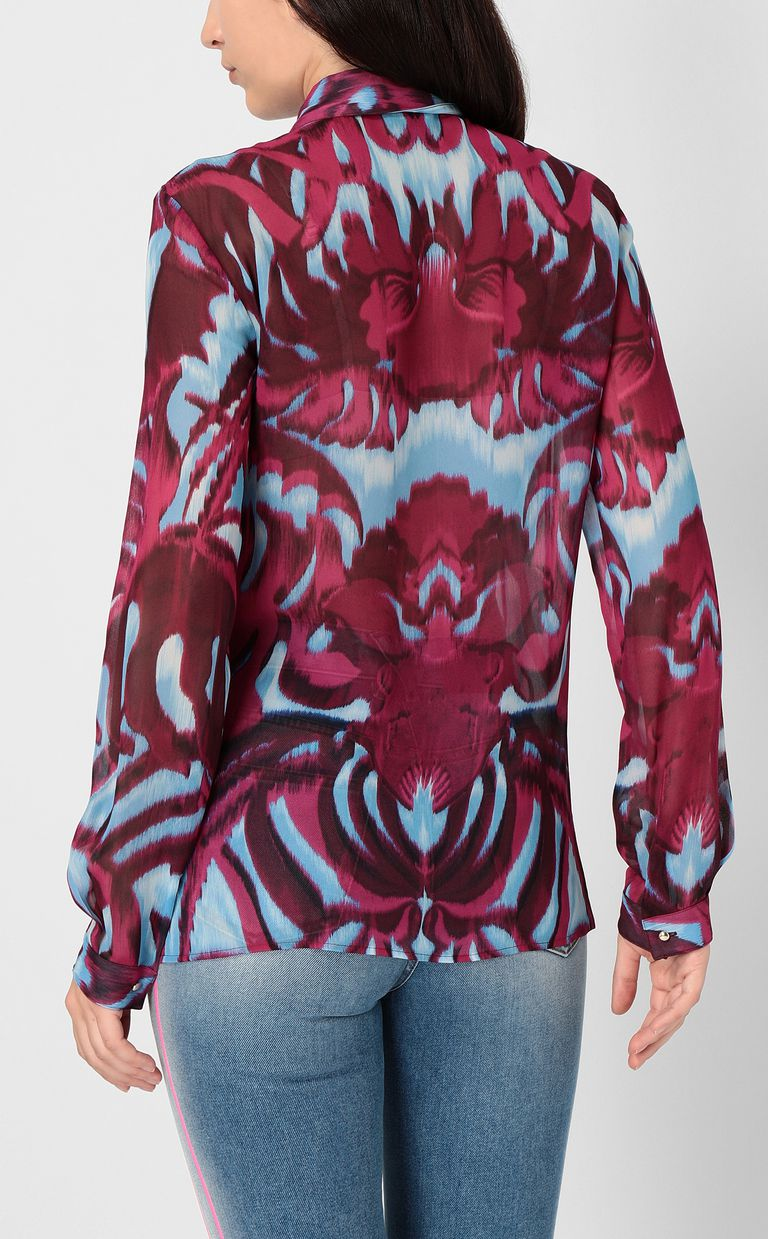 "JUST CAVALLI ""Jungle-Deco'""-print shirt Long sleeve shirt Woman a"