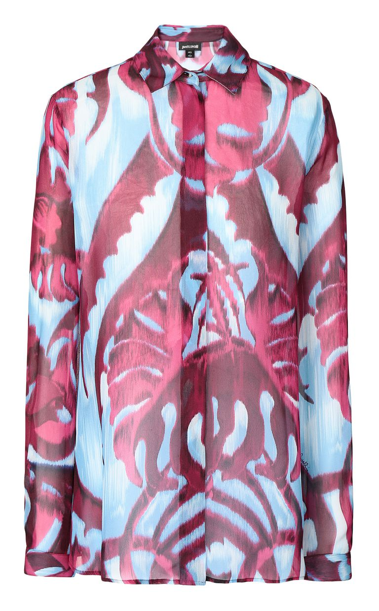 "JUST CAVALLI ""Jungle-Deco'""-print shirt Long sleeve shirt Woman f"