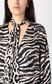 JUST CAVALLI Shirt with zebra-stripe print Blouse Woman e