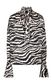 JUST CAVALLI Shirt with zebra-stripe print Blouse Woman f