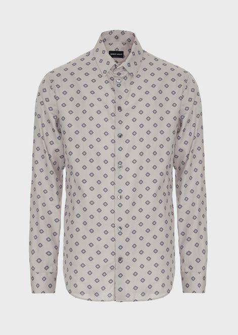 GIORGIO ARMANI Повседневная рубашка Для Мужчин d