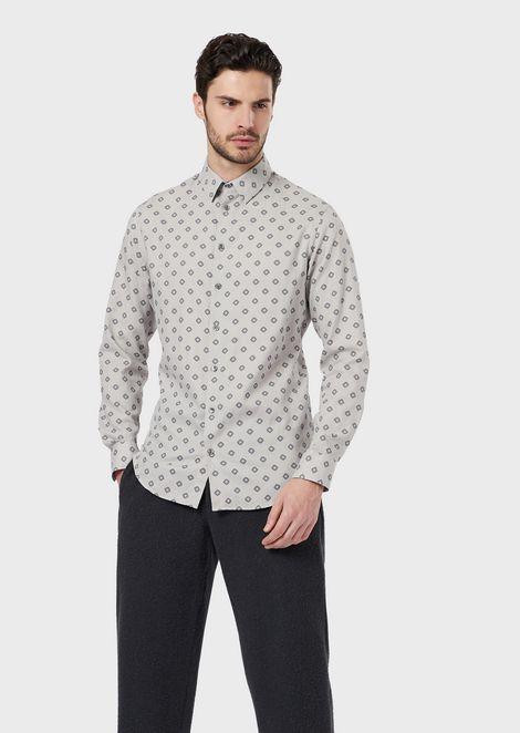 GIORGIO ARMANI Повседневная рубашка Для Мужчин f