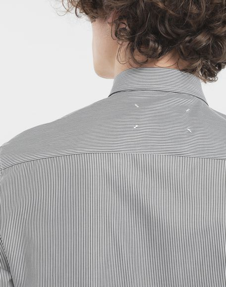 MAISON MARGIELA Outline pinstripe shirt Long sleeve shirt Man a