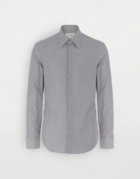 MAISON MARGIELA Outline pinstripe shirt Long sleeve shirt Man f