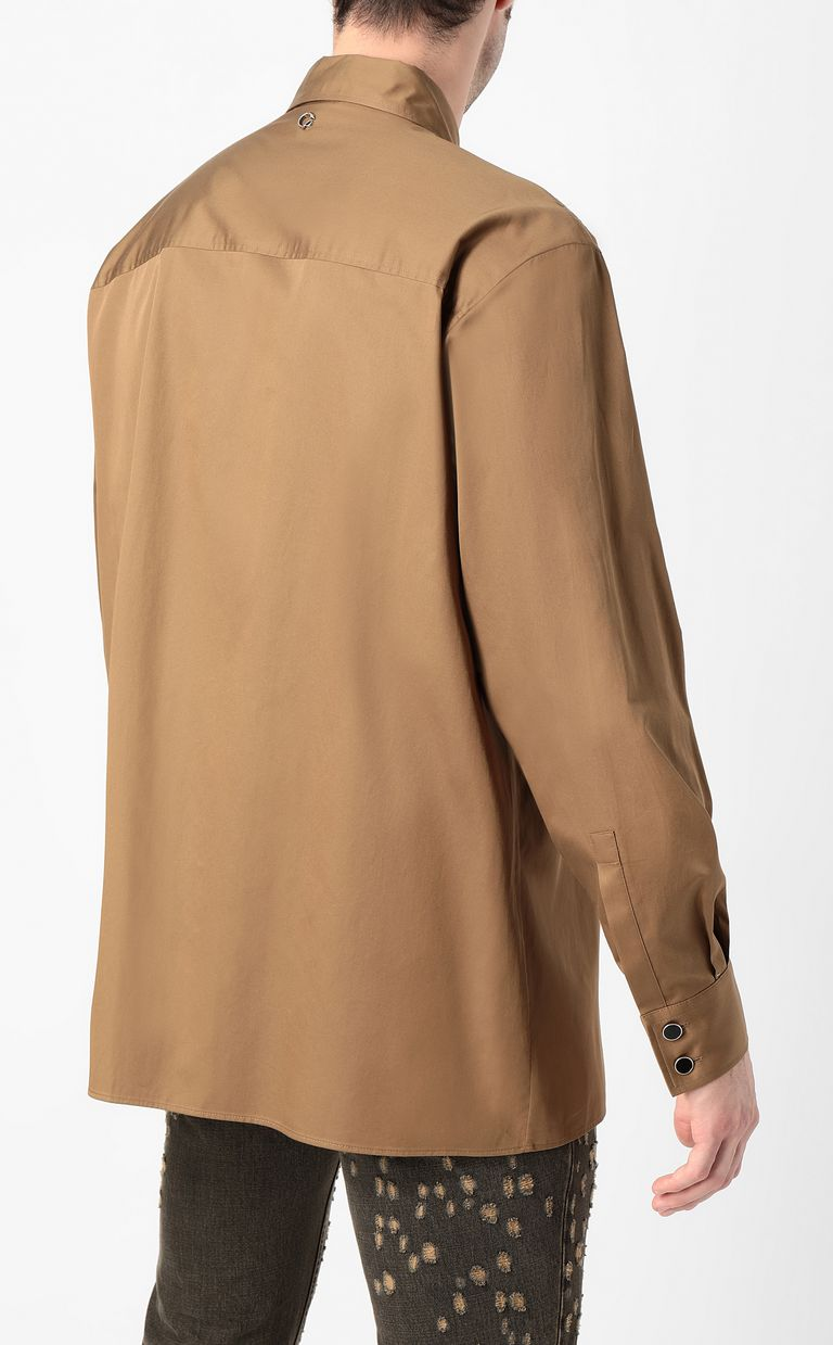 JUST CAVALLI Shirt with python detailing Long sleeve shirt Man a