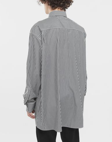 SHIRTS Striped shirt Black