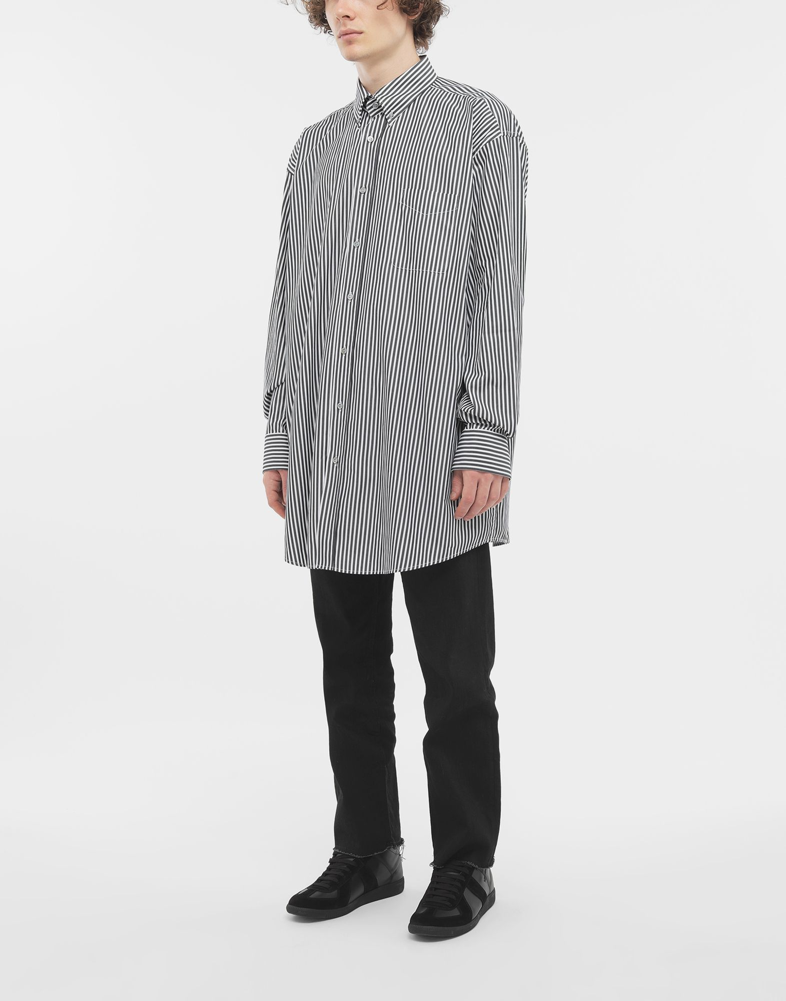 MAISON MARGIELA Striped shirt Long sleeve shirt Man d