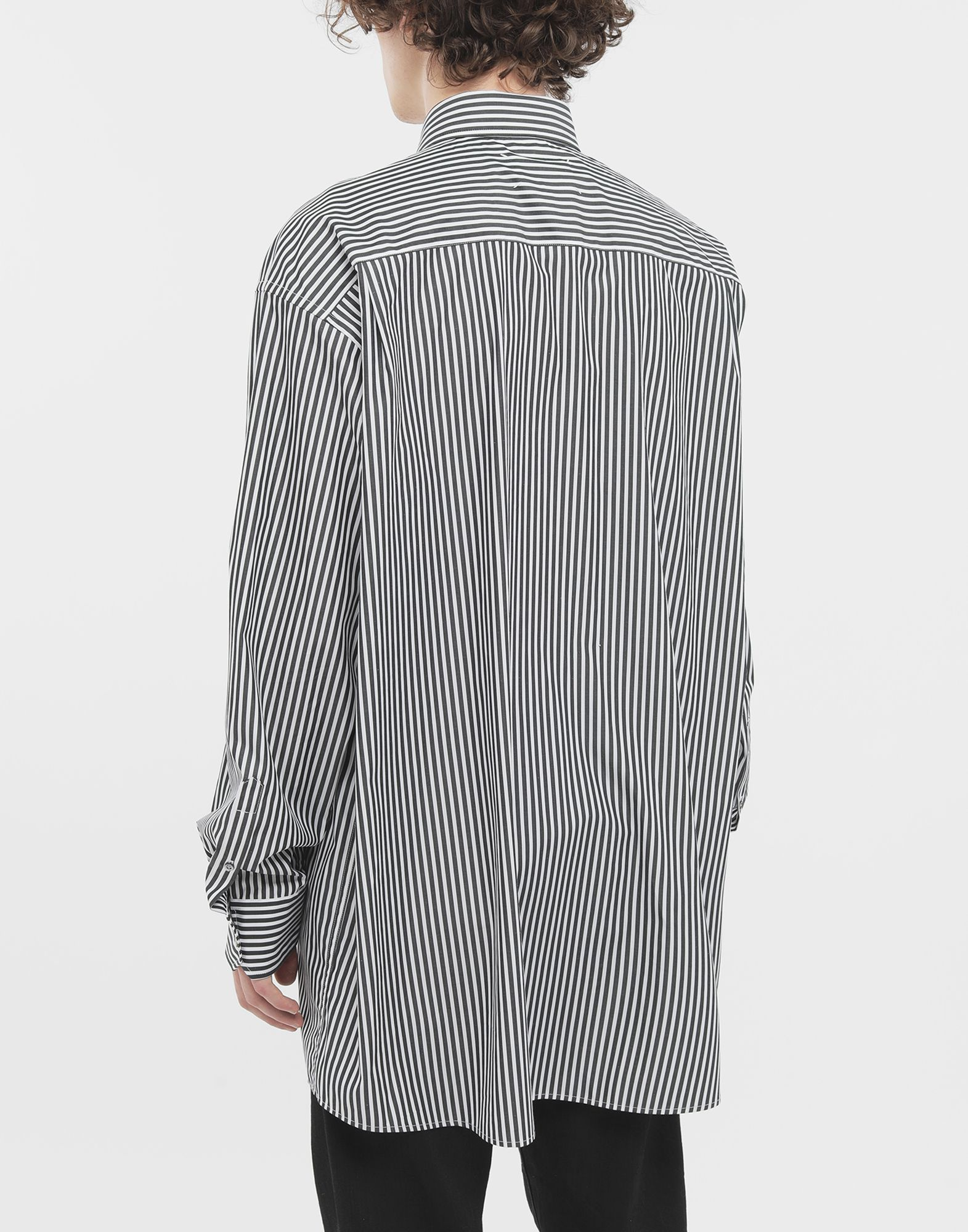 MAISON MARGIELA Striped shirt Long sleeve shirt Man e