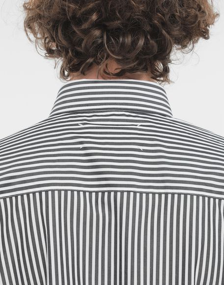 MAISON MARGIELA Striped shirt Long sleeve shirt Man b