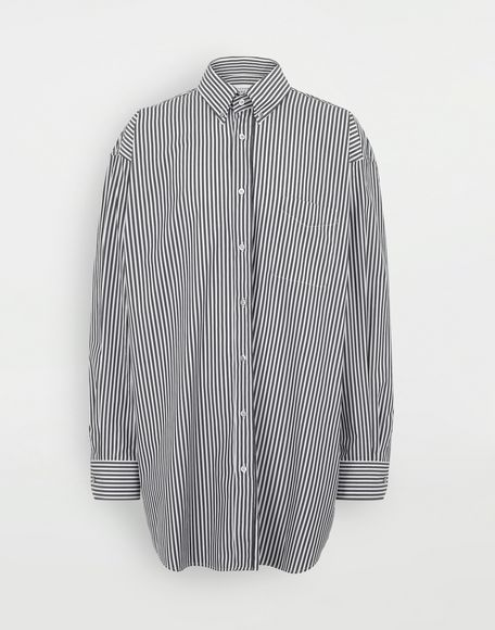 MAISON MARGIELA Striped shirt Long sleeve shirt Man f