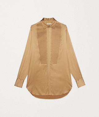 漆面丝缎衬衫