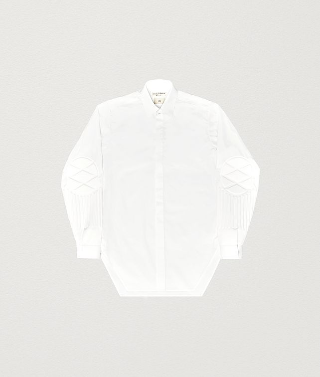 BOTTEGA VENETA SHIRT IN COTTON POPELINE Shirt Man fp